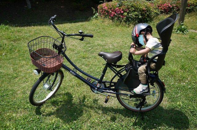 子供乗せ自転車のフィデースDXのレビュー