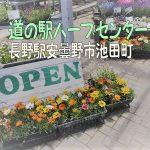 植物好きにおすすめ!長野県安曇野市池田町道の駅ハーブセンター