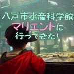 八戸市水産科学館マリエントに子連れで行ってきた!子供の遊び場あり