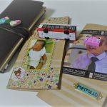 【トラベラーズノート】子供の育児日記&作品集!中身を一部公開します