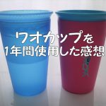 ワオカップを1年間使用した感想!漏れない、手入れ簡単、ママの味方