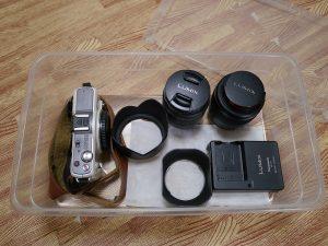 100均のカメラの収納