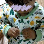 2歳4ヶ月でパジャマのボタン留め習得!絶対にレゴのおかげ