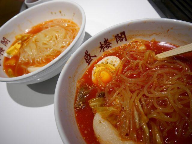 冷麺の盛楼閣