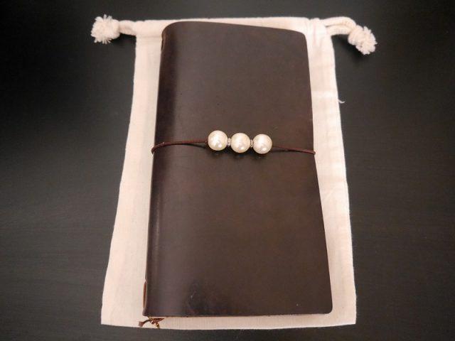 トラベラーズノートの巾着