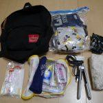 2歳半の息子と二人東京一泊旅行の荷物はコレ!とことん軽量化