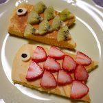 【こどもの日】ホットケーキで鯉のぼりスイーツを作ってみた