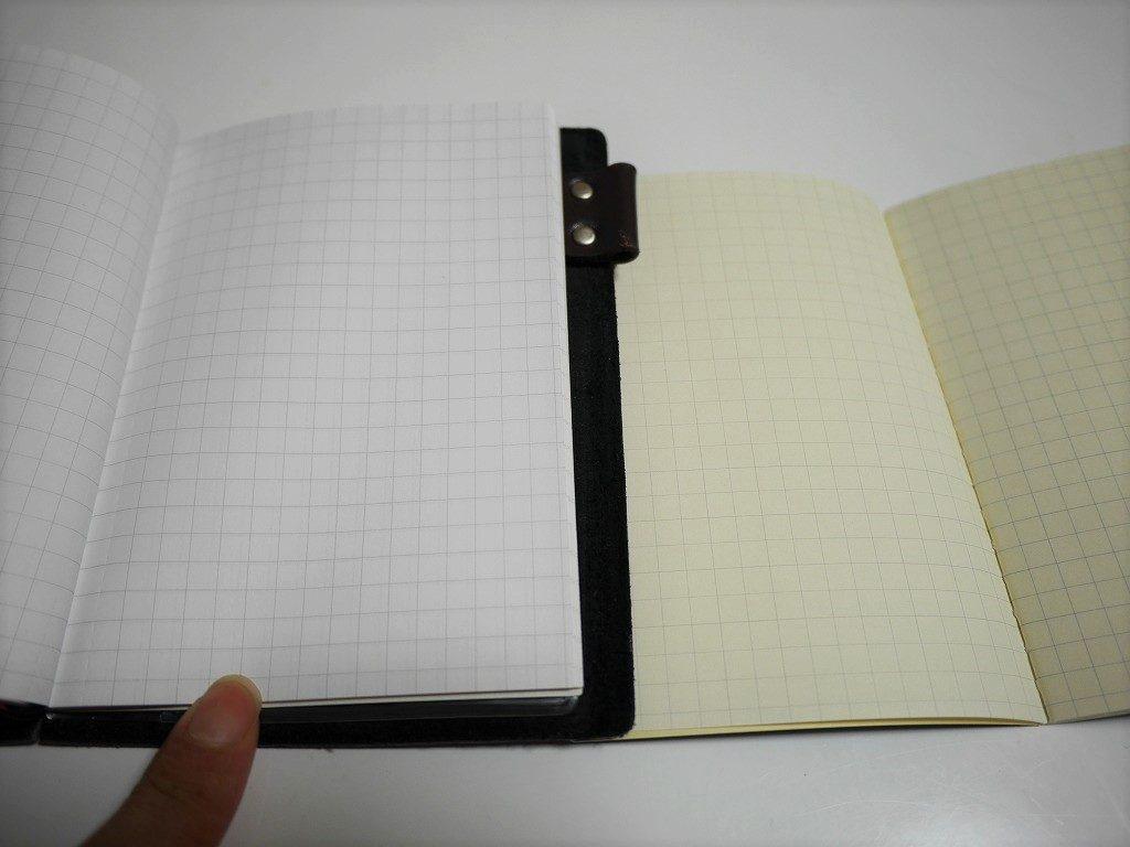 無印良品で代用したトラベラーズノートのリフィル