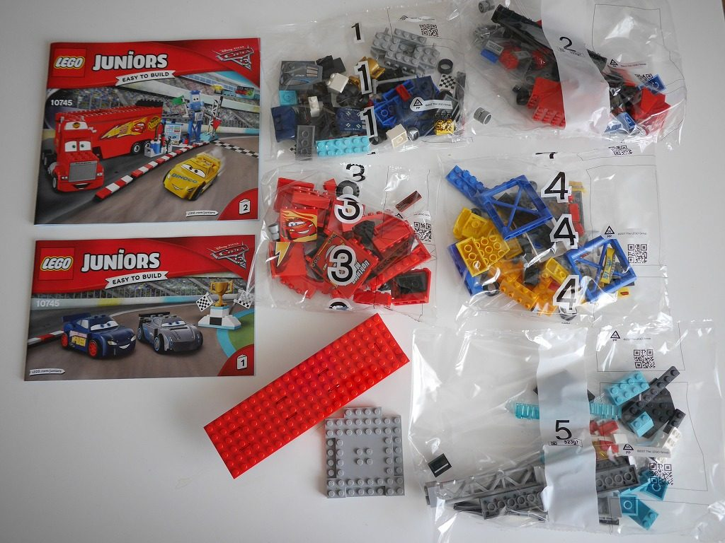 レゴカーズフロリダ500ファイナルレース10745の中身