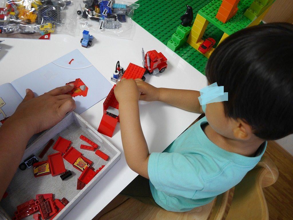 3歳の男の子の誕生日にレゴカーズフロリダ500ファイナルレース10745